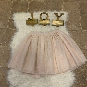 NWT! GAP KIDS Big Girl Sparkly Rose Gold Tutu
